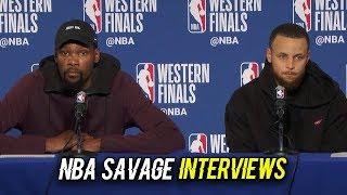 MOST SAVAGE NBA INTERVIEWS 2019 SEASON