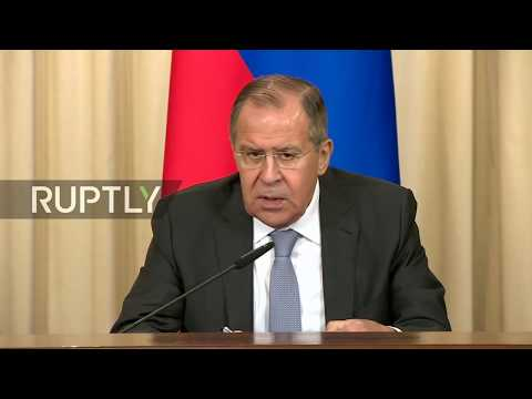LIVE: Sergei Lavrov holds joint press conference with Belarus FM Vladimir Makei