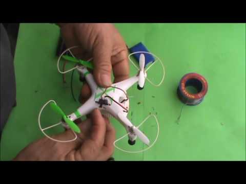 COMO CONVERTIR UN DRON CX - 30W DE BATERIAS A  PANEL SOLAR