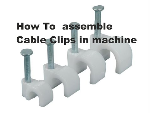 Wire clip assembly machine made in india