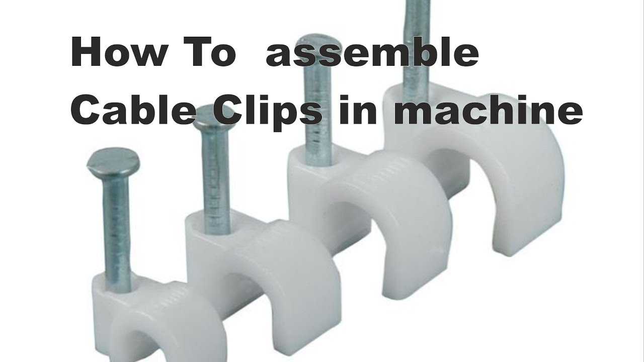 Wire clip assembly machine made in india - YouTube