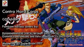 Contra Hard Corps (VRC6+VRC7+2A03+DPCM mastering) - GTR Attack covers