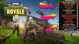 "HOW TOMBER ON A CHEATER ""FORTNITE BATTLE ROYAL"""
