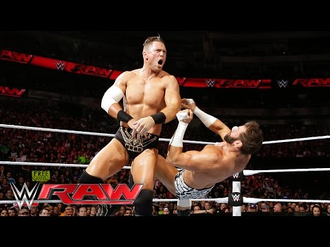 Zack Ryder vs. The Miz - Intercontinental Championship Match: Raw, April 4, 2016
