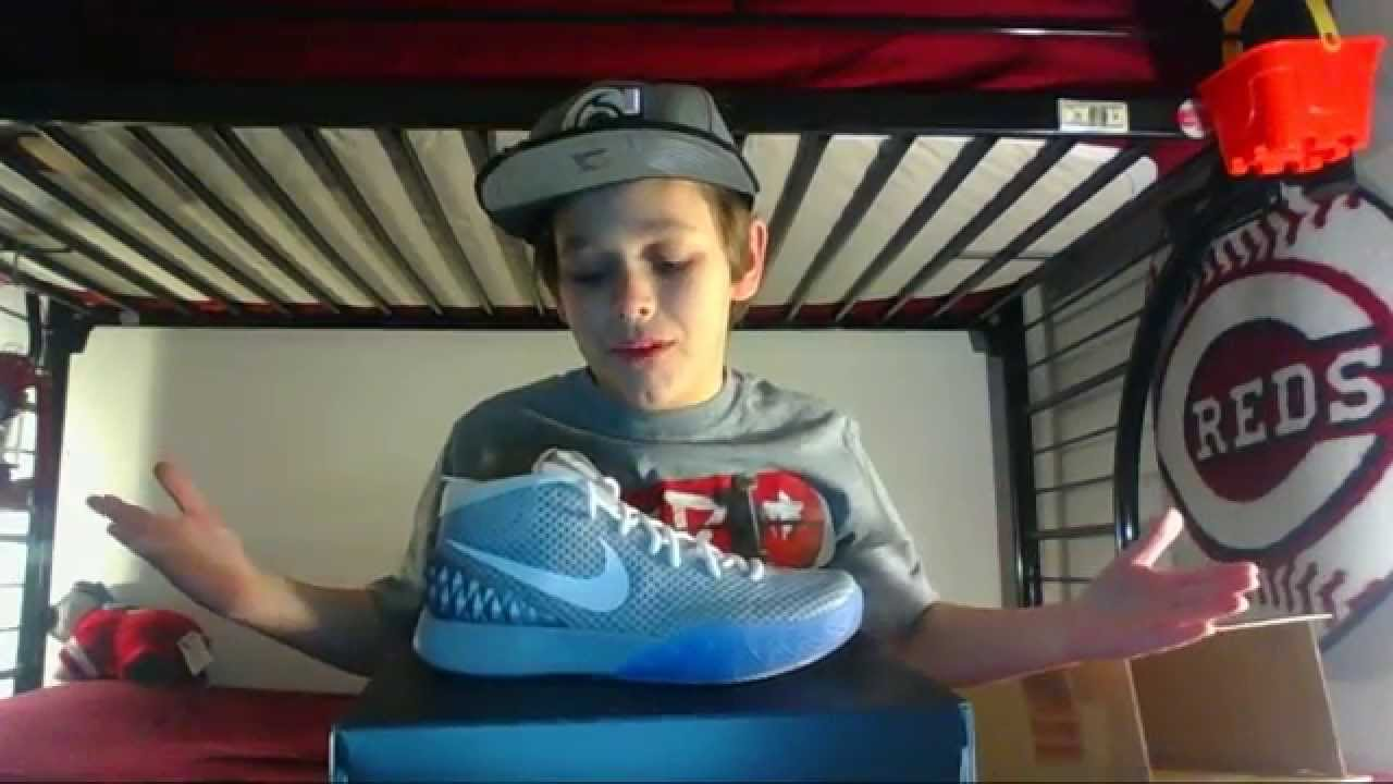 Kyrie 1 Nikeid Air Mag Style - YouTube