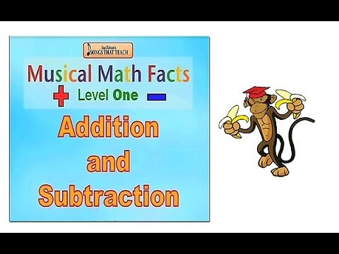 Musical Math Level 1 Addition & Subtraction by Sue Dickson