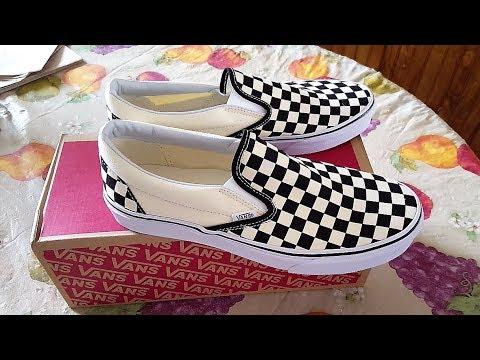 a2f08e3734 Vans Vault OG Classic Slip-On Black Checkerboard Review!!! - YouTube