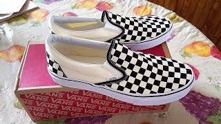 Vans Vault Og Classic Slip-On Black Checkerboard Review!