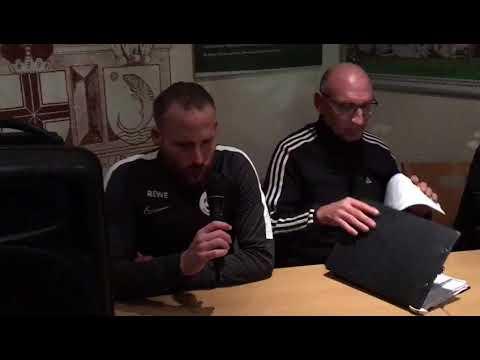Kevin Schmitt, Trainer FSG Ehrang, nach dem 0:2 im Pokal gegen RW Koblenz