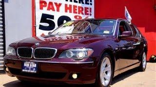 2006 BMW 750Li LWB Luxury Sedan