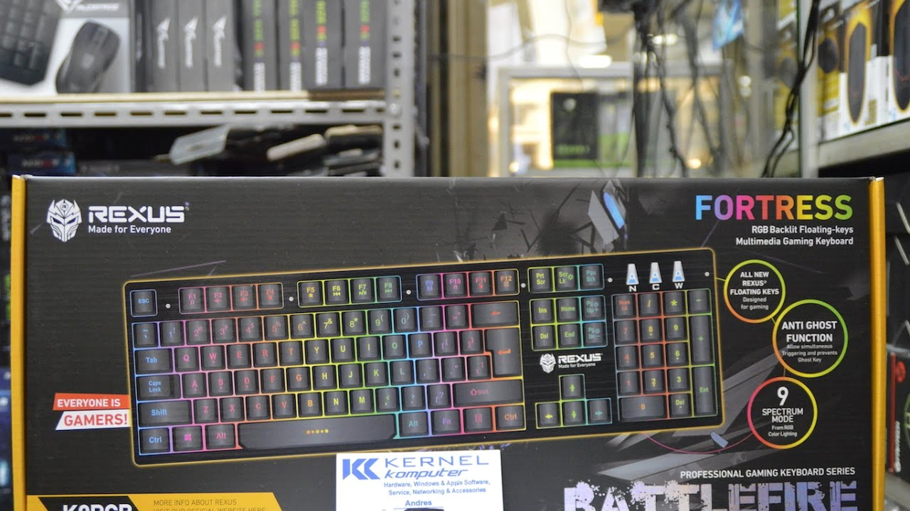 Rexus Fortress K9rgb Battlefire Gaming Keyboard Spec Dan Daftar Paket Super Hemat Mouse Tx3 Rx Source Youtube Premium