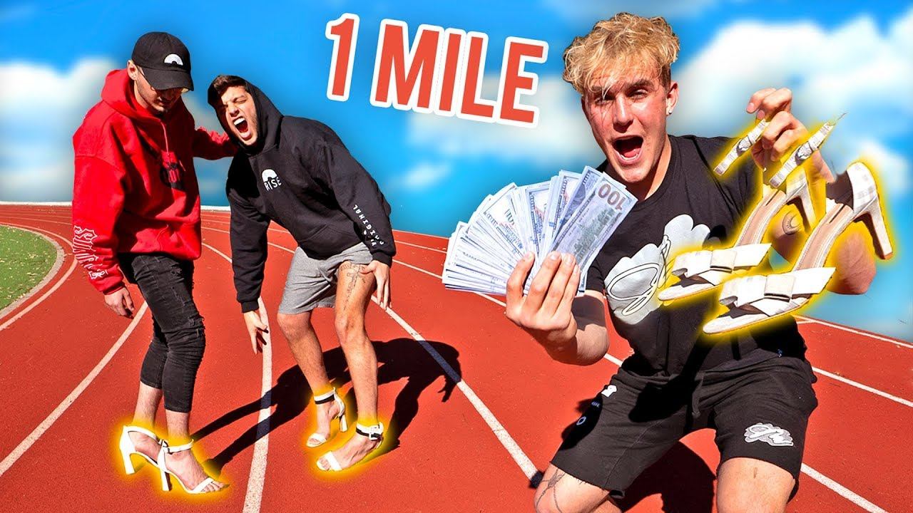 FIRST To Run 1 Mile IN HIGH HEELS Wins $25,000