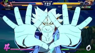 Dragon Ball FighterZ  EPIC Ki Blast clashing! This is straight up DBZ!