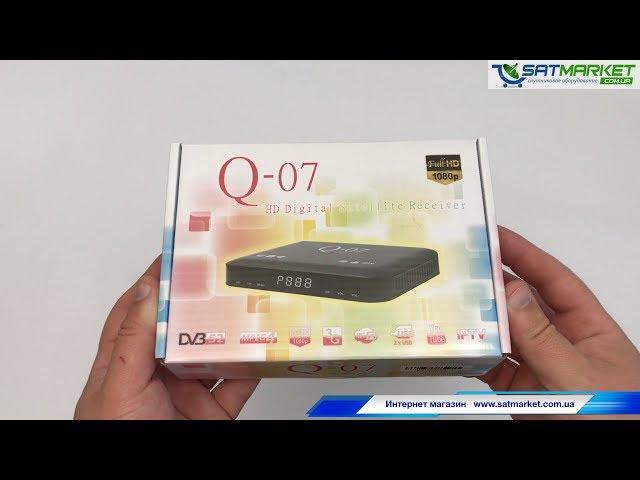Видео обзор Q-SAT Q-07 HD