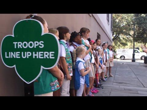 Girl Scout Trip to Savannah