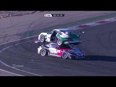 Crash Gounon and De Narda HD (Porsche Carrera Cup France: Navarra)