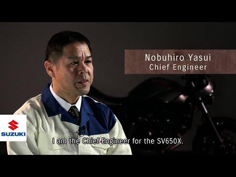 SV650X Development Team Member Interview - Chief Engineer - | Suzuki