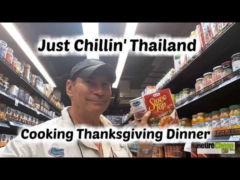 Just Chillin' 001 Thanksgiving in Thailand 🍃