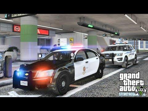 GTA 5 MODS LSPDFR 0 4 2 - EP 59 - AIRPORT PATROL!!! (GTA 5 REAL LIFE