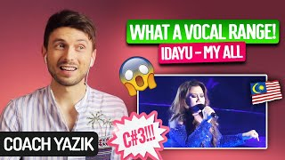 Download YAZIK reacts to MY ALL - Idayu   WHAT A VOICE!