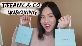 TIFFANY AND CO. UNBOXING 2021   Mini Heart Tag Earrings and Disc Charm
