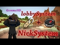 LOBBYSYSTEM + NICK PLUGIN + FREE DOWNLOAD