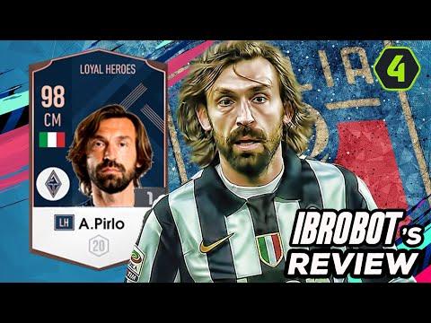 PIRLO LH REVIEW – THIÊN TÀI HAY PHẾ NHÂN TRONG FIFA ONLINE 4 ?