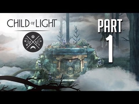 Child of Light Gameplay Walkthrough Part 1 - PRETTIEST GAME EVER