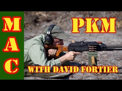 PKM Machine Gun - Closer Look