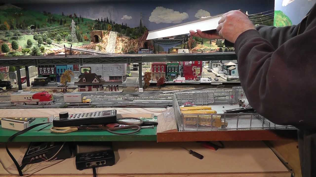 Scratch Building An Ho Scale Elevated Subway Station M2ts