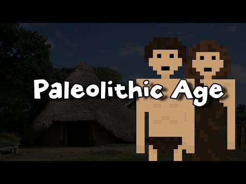 The Paleolithic Age (The Stone Age)