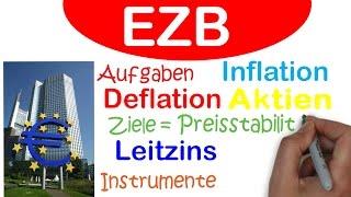 EZB einfach erklärt | Geldpolitischen Instrumente gegen die Inflation und Deflation
