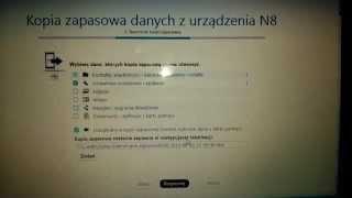 Nokia N8 Kopia Zapasowa pamięci przed przywracaniem ustawień fabrycznych, Symbian