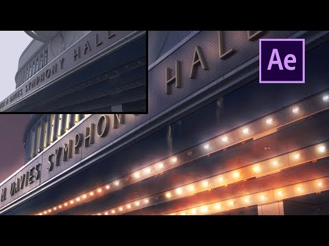 How to create a day to night look in After Effects Tutorial (Advanced)