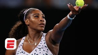Serena Williams: 'Boxing in the offseason isn't great for my nails'| Australian Open