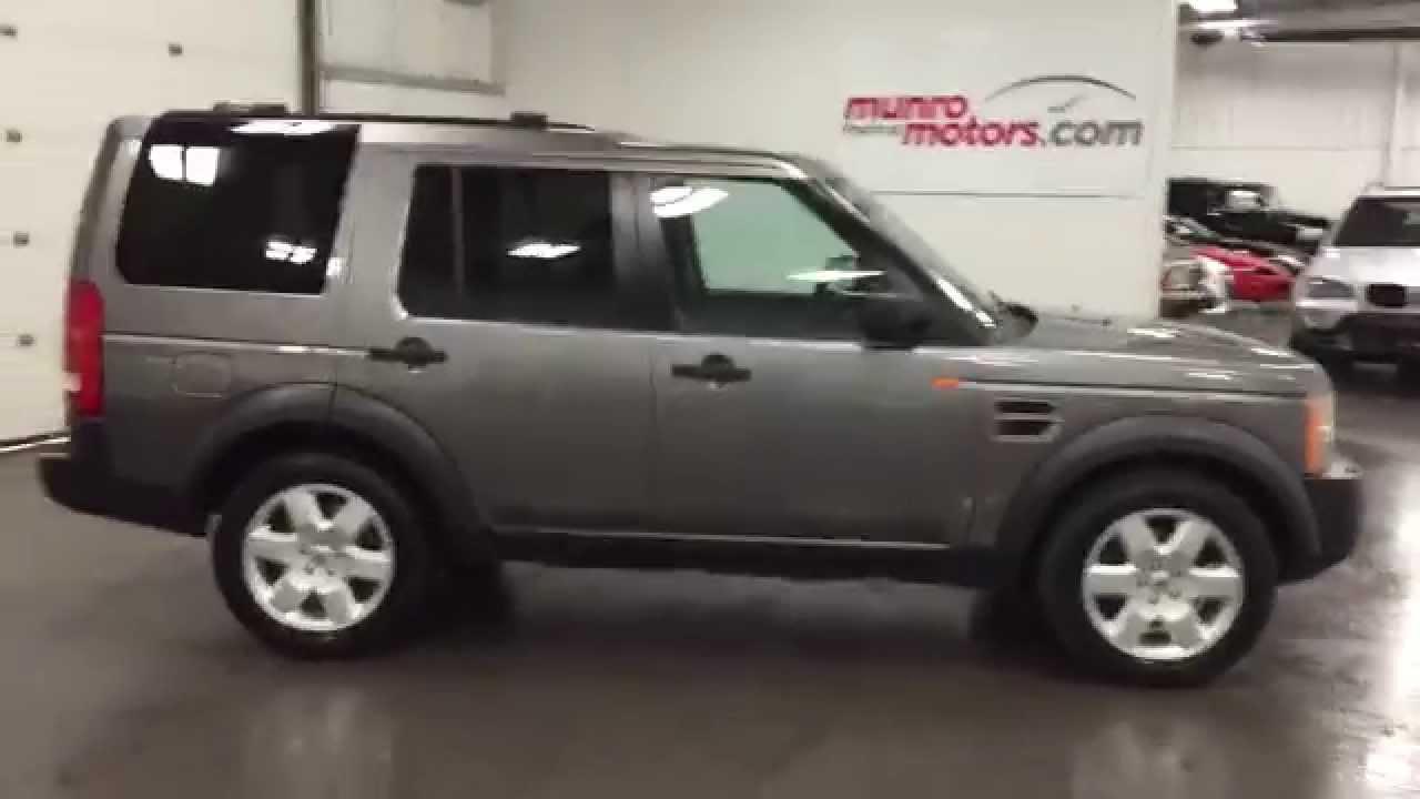 2007 Land Rover LR3 HSE V8 Navigation SOLD - YouTube