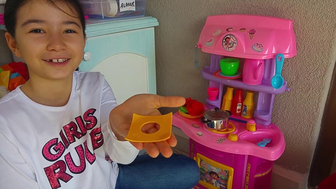 Alanur Loli Ile Nazlıya Yemek Sipariş Ediyor Eğlenceli çocuk