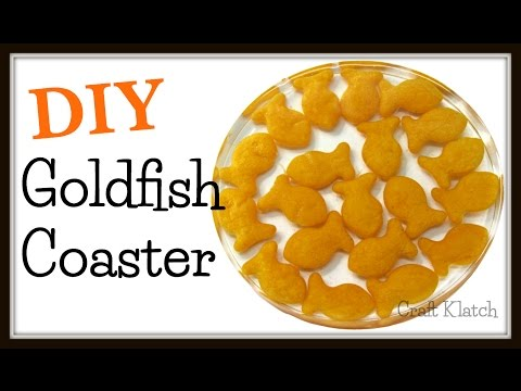 Goldfish Coasters | DIY Project | Another Coaster Friday | Craft Klatch | How To