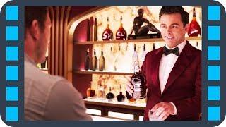 Знакомство с барменом-андроидом — «Пассажиры» (2016) сцена 1/8 HD