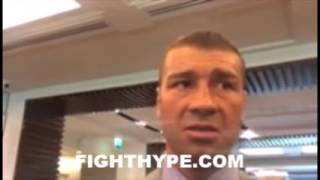 LUCIAN BUTE TALKS JAMES DEGALE CLASH: