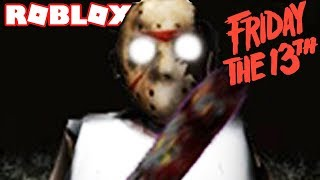 JASON FRIDAY THE 13TH IN ROBLOX GRANNY