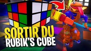 Sortir du Rubik's Cube le plus vite possible ! Deathrun Fortnite Créatif avec la Team Croûton