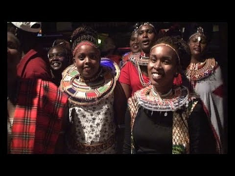 NOSIM FM ESIANKIKI NIGHT AT CARNIVORE KENYA MAASAI CULTURAL ENTERTAINMENT