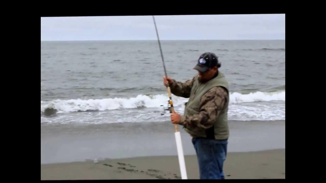 Fishing on the northern california coast youtube for Surf fishing northern california