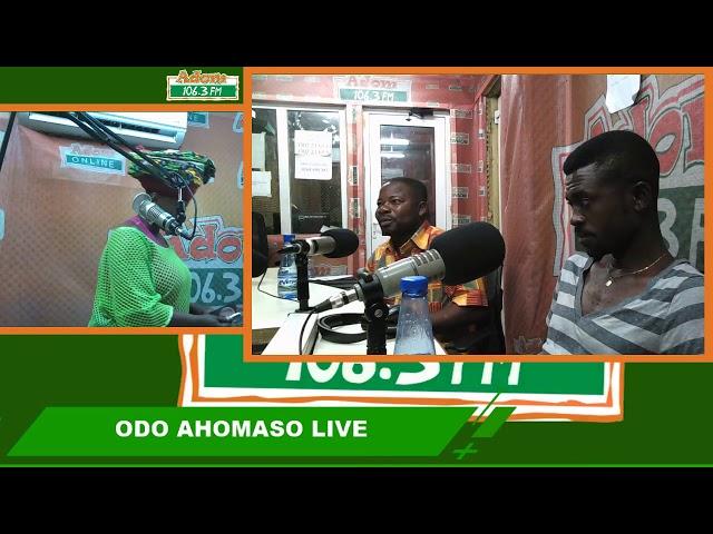 Odo Ahomaso on Adom FM (1-8-18)