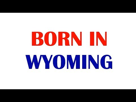 Born In Wyoming (celebrities, athletes, musicians....) - 10 Famous People