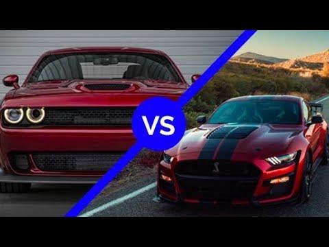 Shelby GT VS  Dodge Challenger Redeye!!!