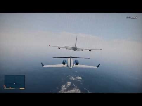Best Plane Take Off Crashes In GTA 5  How To Save Money And Do It