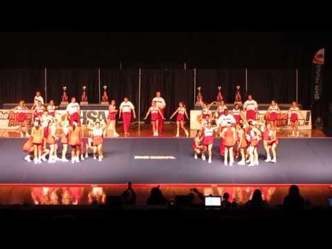 Illinois State University Exhibition @ IHSA Cheerleading State 2015