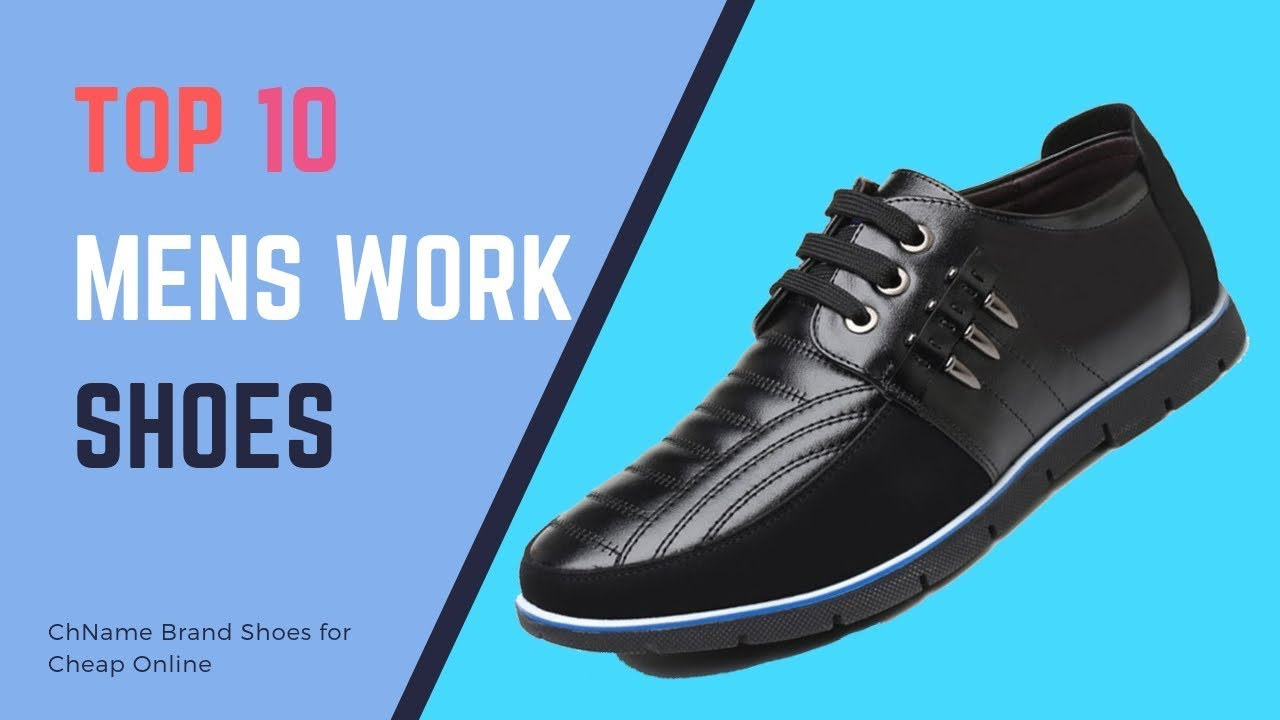 best cheap watch sale online Top 10 Best Mens Work Shoes for Standing All Day | Name ...